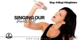 Singing Our Hearts Out!