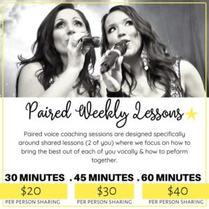 Paired Weekly Lessons