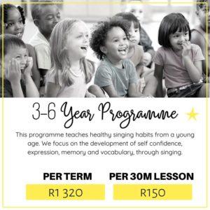 3-6 Year Programme